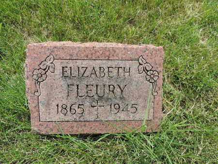 FLEURY, ELIZABETH - Franklin County, Ohio | ELIZABETH FLEURY - Ohio Gravestone Photos