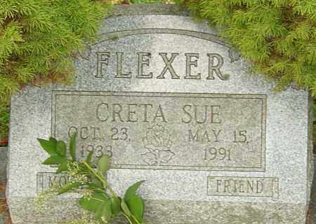 FLEXER, CRETA - Franklin County, Ohio | CRETA FLEXER - Ohio Gravestone Photos