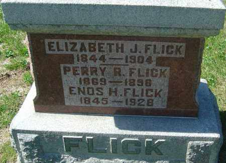 FLICK, ELIZABETH J - Franklin County, Ohio | ELIZABETH J FLICK - Ohio Gravestone Photos