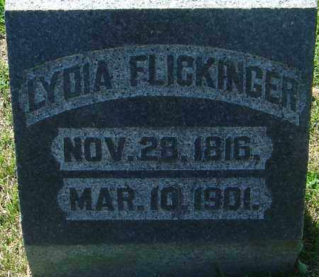 FLICKINGER, LYDIA YINGLING - Franklin County, Ohio | LYDIA YINGLING FLICKINGER - Ohio Gravestone Photos