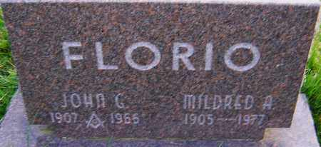 FLORIO, MILDRED - Franklin County, Ohio | MILDRED FLORIO - Ohio Gravestone Photos