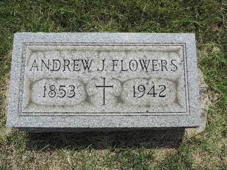 FLOWERS, ANDREW - Franklin County, Ohio | ANDREW FLOWERS - Ohio Gravestone Photos