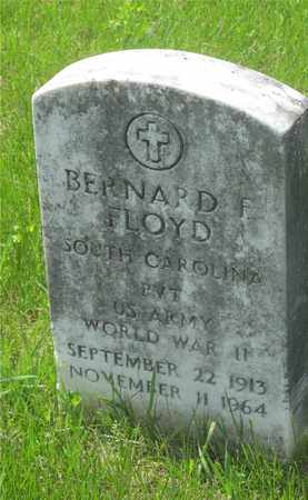 FLOYD, BERNARD F. - Franklin County, Ohio | BERNARD F. FLOYD - Ohio Gravestone Photos