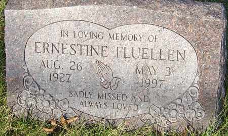 FLUELLEN, ERNESTINE - Franklin County, Ohio | ERNESTINE FLUELLEN - Ohio Gravestone Photos