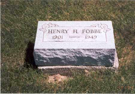 FOBBE, HENRY H. - Franklin County, Ohio | HENRY H. FOBBE - Ohio Gravestone Photos