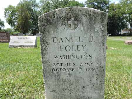 FOLEY, DANIEL J. - Franklin County, Ohio | DANIEL J. FOLEY - Ohio Gravestone Photos