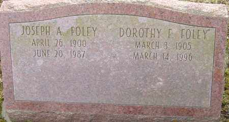 FOLEY, DOROTHY F - Franklin County, Ohio | DOROTHY F FOLEY - Ohio Gravestone Photos