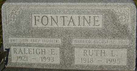 FONTAINE, RALEIGH - Franklin County, Ohio | RALEIGH FONTAINE - Ohio Gravestone Photos