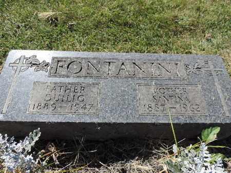 FONTANINI, SANTINA - Franklin County, Ohio | SANTINA FONTANINI - Ohio Gravestone Photos
