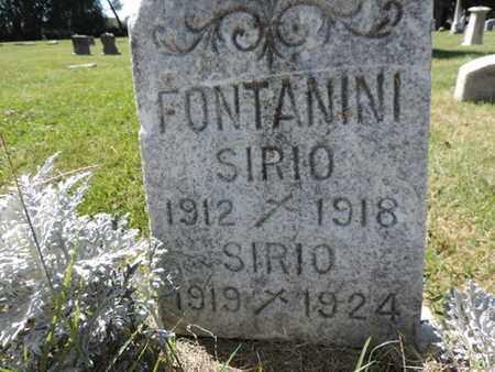 FONTANINI, SIRIO - Franklin County, Ohio | SIRIO FONTANINI - Ohio Gravestone Photos
