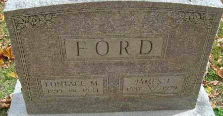 FORD, FONTACE - Franklin County, Ohio | FONTACE FORD - Ohio Gravestone Photos