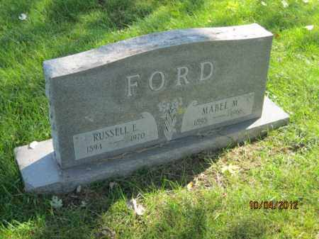 FORD, MABEL MARGUERITE - Franklin County, Ohio | MABEL MARGUERITE FORD - Ohio Gravestone Photos
