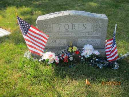 FEJES FORIS, VIRGINIA - Franklin County, Ohio | VIRGINIA FEJES FORIS - Ohio Gravestone Photos
