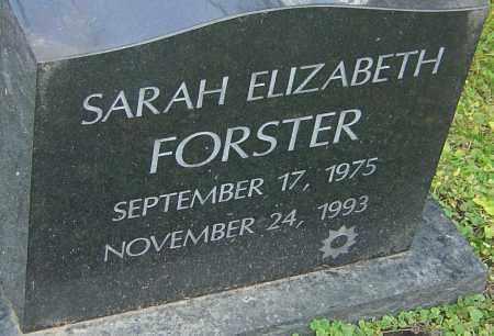 FORSTER, SARAH - Franklin County, Ohio | SARAH FORSTER - Ohio Gravestone Photos
