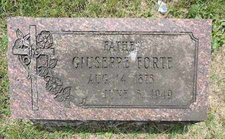 FORTE, GIUSEPPE - Franklin County, Ohio | GIUSEPPE FORTE - Ohio Gravestone Photos
