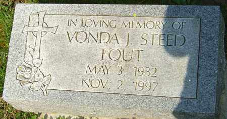 STEED FOUT, VONDA J - Franklin County, Ohio | VONDA J STEED FOUT - Ohio Gravestone Photos