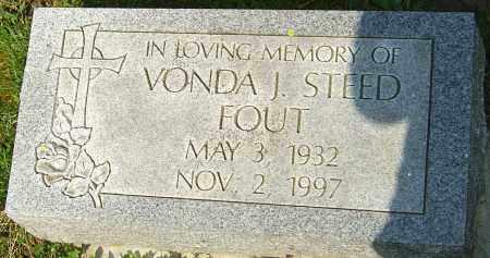 FOUT, VONDA J - Franklin County, Ohio | VONDA J FOUT - Ohio Gravestone Photos