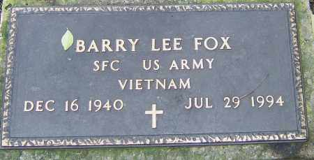 FOX, BARRY - Franklin County, Ohio | BARRY FOX - Ohio Gravestone Photos