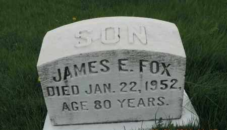 FOX, JAMES E. - Franklin County, Ohio | JAMES E. FOX - Ohio Gravestone Photos