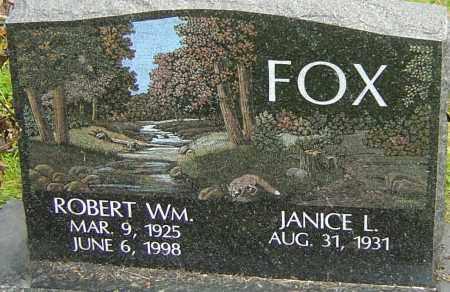 FOX, ROBERT - Franklin County, Ohio | ROBERT FOX - Ohio Gravestone Photos