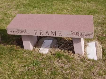 FRAME FAMILY, MONUMENT - Franklin County, Ohio | MONUMENT FRAME FAMILY - Ohio Gravestone Photos