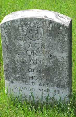 FRANCE, JACK MORRIS - Franklin County, Ohio   JACK MORRIS FRANCE - Ohio Gravestone Photos