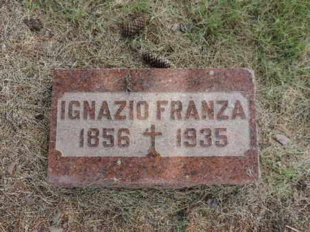 FRANZA, IGNAZIO - Franklin County, Ohio | IGNAZIO FRANZA - Ohio Gravestone Photos