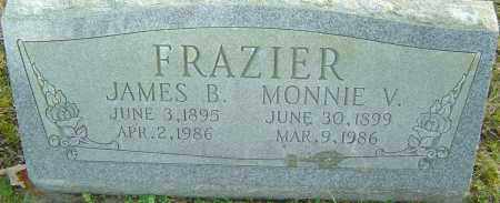 FRAZIER, MONNIE - Franklin County, Ohio | MONNIE FRAZIER - Ohio Gravestone Photos