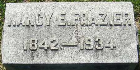 FRAZIER, NANCY E - Franklin County, Ohio | NANCY E FRAZIER - Ohio Gravestone Photos
