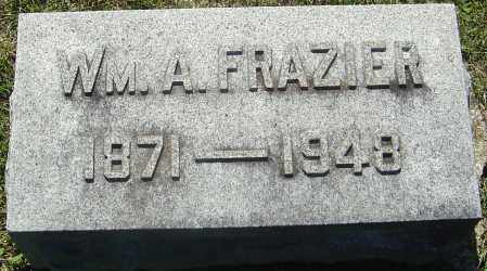 FRAZIER, WILLLIAM A - Franklin County, Ohio | WILLLIAM A FRAZIER - Ohio Gravestone Photos
