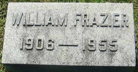 FRAZIER, WILLIAM M - Franklin County, Ohio | WILLIAM M FRAZIER - Ohio Gravestone Photos