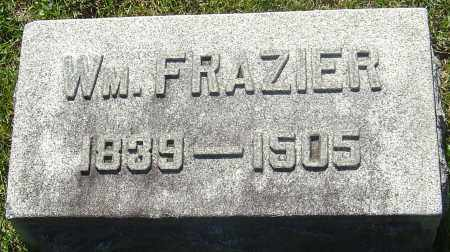 FRAZIER, WILLIAM - Franklin County, Ohio | WILLIAM FRAZIER - Ohio Gravestone Photos