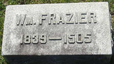 FRAZIER, WILLIAM - Franklin County, Ohio | WILLIAM FRAZIER - Ohio Gravestone Photos