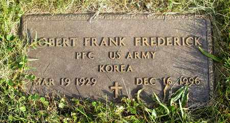 FREDERICK, ROBERT FRANK - Franklin County, Ohio | ROBERT FRANK FREDERICK - Ohio Gravestone Photos