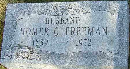 FREEMAN, HOMER C - Franklin County, Ohio | HOMER C FREEMAN - Ohio Gravestone Photos