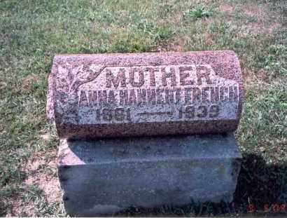 HAHNERT FRENCH, ANNA - Franklin County, Ohio | ANNA HAHNERT FRENCH - Ohio Gravestone Photos