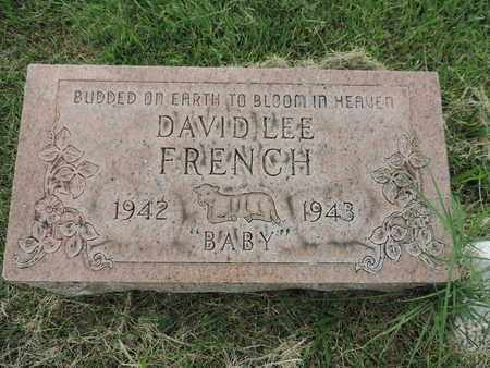 FRENCH, DAVID LEE - Franklin County, Ohio | DAVID LEE FRENCH - Ohio Gravestone Photos