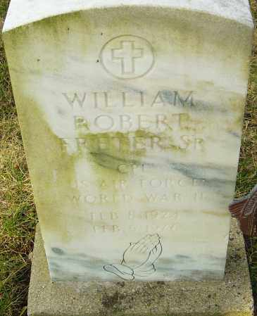 FRETER, WILLIAM ROBERT - Franklin County, Ohio | WILLIAM ROBERT FRETER - Ohio Gravestone Photos