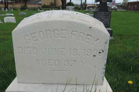FREY, GEORGE - Franklin County, Ohio | GEORGE FREY - Ohio Gravestone Photos