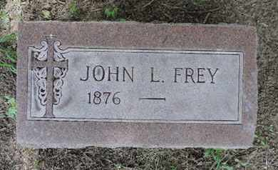 FREY, JOHN L. - Franklin County, Ohio | JOHN L. FREY - Ohio Gravestone Photos