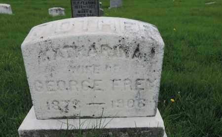FREY, KATHARINA - Franklin County, Ohio | KATHARINA FREY - Ohio Gravestone Photos