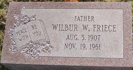 FRIECE, WILBUR - Franklin County, Ohio | WILBUR FRIECE - Ohio Gravestone Photos