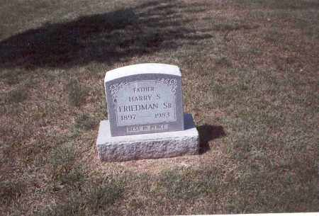 FRIEDMAN, SR., HARRY S. - Franklin County, Ohio | HARRY S. FRIEDMAN, SR. - Ohio Gravestone Photos