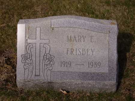FRISBEY, MARY E. - Franklin County, Ohio | MARY E. FRISBEY - Ohio Gravestone Photos