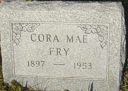 FRY, CORA MAE - Franklin County, Ohio | CORA MAE FRY - Ohio Gravestone Photos