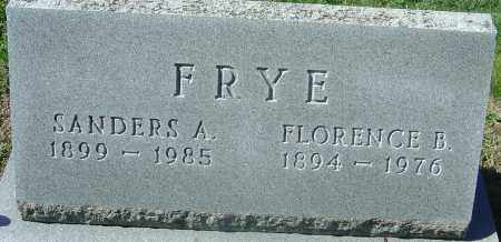 FRYE, FLORENCE BELLE - Franklin County, Ohio | FLORENCE BELLE FRYE - Ohio Gravestone Photos