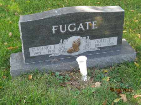BARBOUR FUGATE, VIOLETTE F - Franklin County, Ohio | VIOLETTE F BARBOUR FUGATE - Ohio Gravestone Photos