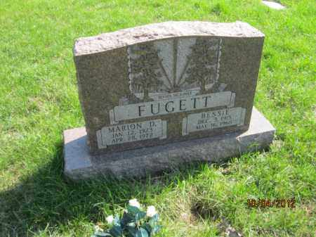 FUGETT, MARION D - Franklin County, Ohio | MARION D FUGETT - Ohio Gravestone Photos