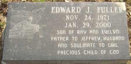 FULLER, EDWARD J - Franklin County, Ohio | EDWARD J FULLER - Ohio Gravestone Photos