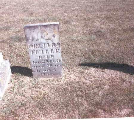 FULLER, ORLANDO - Franklin County, Ohio | ORLANDO FULLER - Ohio Gravestone Photos